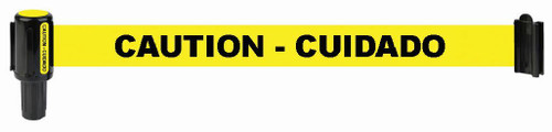"Banner Stakes PL4028 PLUS Yellow ""Caution-Cuidado"" Banner. Shop now!"