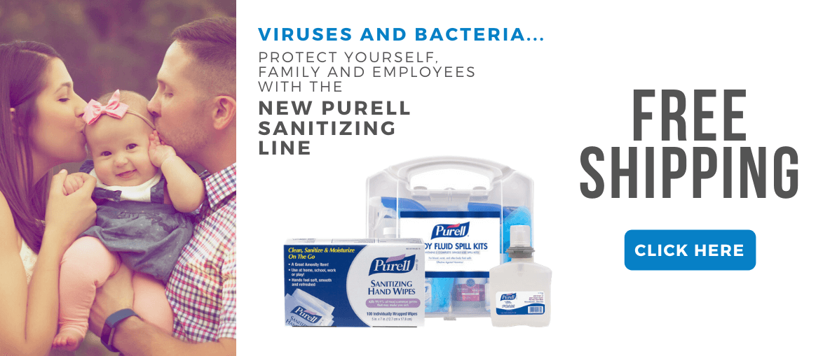 FREE Ground Shipping on any Purell Sanitizing products.  Shop now and save!
