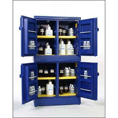Keep your harmful chemicals tucked in a safety storage with our acid-corrosive safety cabinets. Buy now and save up to 35% today!