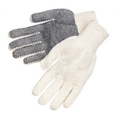 Get more than just durability and grip quality with our comfortable string knit gloves (in cotton) here at Safety Company today!
