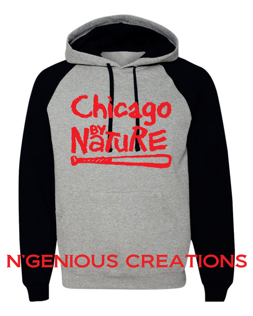 CHICAGO BY NATURE TWO TONE HOODIE
