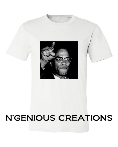 BLACK ICON SERIES: MALCOM X TSHIRT