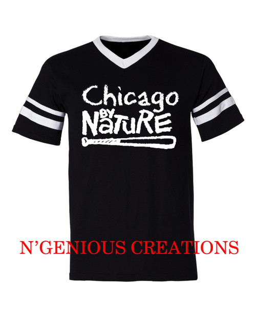 CHICAGO BY NATURE JERSEY STYLE TSHIRT