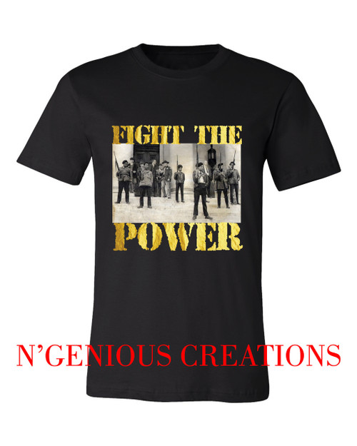 FIGHT THE POWER MENS TSHIRT