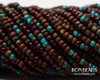 8/0 Aged Rustic Mosaic Mix (1/4 Kilo)