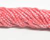 6/0 Aged Red Silver Bugles (1/4 Kilo)