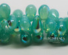 6x9mm Caribbean Turquoise AB Drops (150 Pieces)