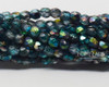 3mm Azure Celestial Etched Round Fire Polished (600 Pieces)