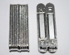 38X14X7mm Silver Ridge Magnetic Bar Clasp (Each)