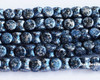 4x6mm Granite Galaxy Lapis Pellets (300 Pieces)