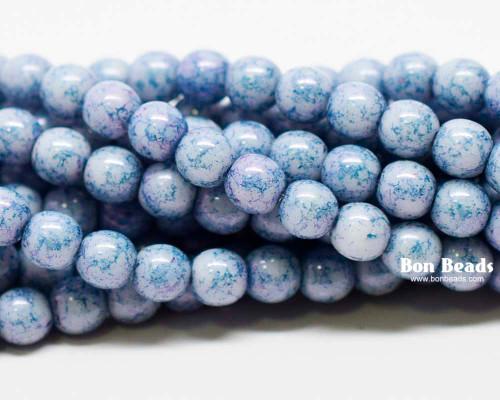 4mm Lapis Lazuli Smooth Round Druks (600 Pieces)