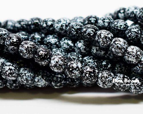 4mm Granite Smooth Round Druks (600 Pieces)