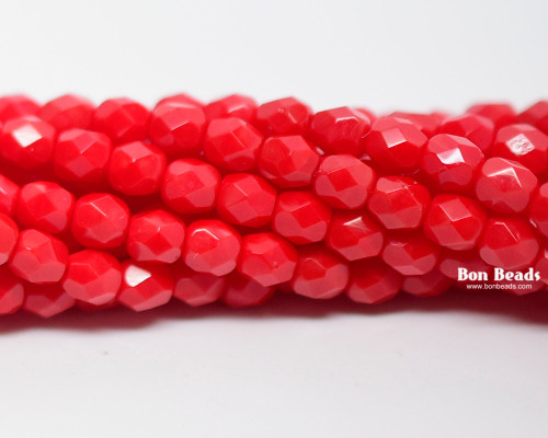 4mm Rouge Round Fire Polished (600 Pieces)