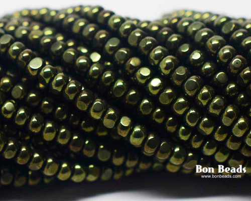 6/0 3 Cut Metallic Green (1/4 Kilo)