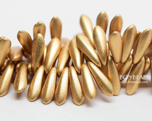 3x11mm Aztec Gold Daggers (300 Pieces)