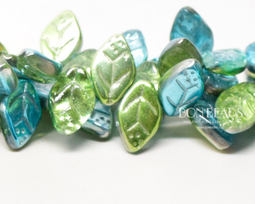 12x7mm Laguna Celestial Leaves (300 Pieces)