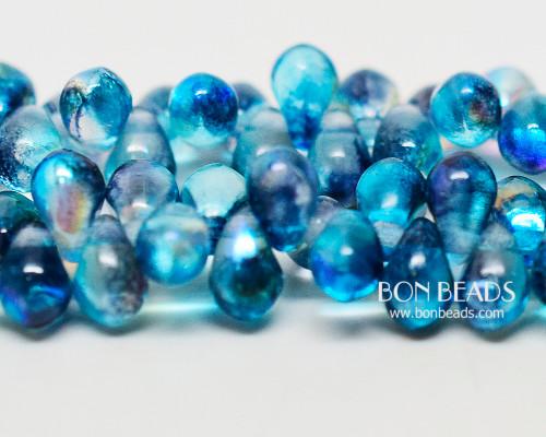 4x6mm Blue Celestial Drops (300 Pieces)