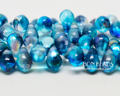 4x6mm Blue Celestial Drops (300 Pieces)