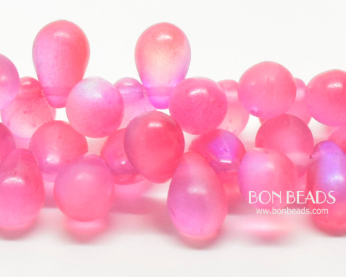 6x9mm Matted Rose Celestial Drops (150 Pieces)