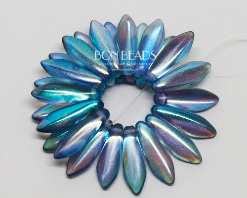 5x16mm Aqua Celestial Daggers (300 Pieces)
