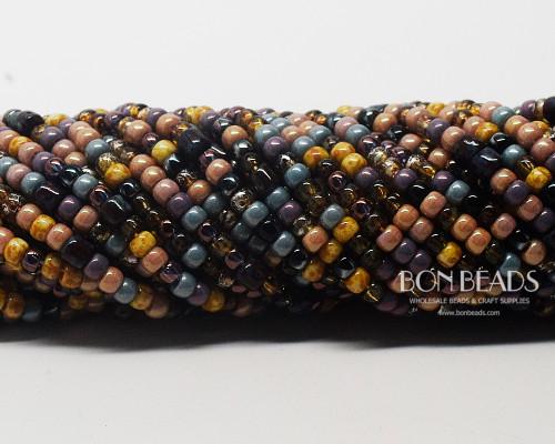 6/0 BonBon™ Aged Tulip Picasso Mix (1/4 Kilo)