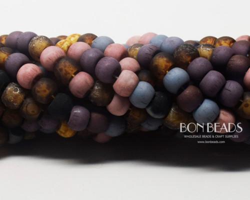 32/0 BonBon™ Aged Matted Tulip Picasso Mix (1/4 Kilo)