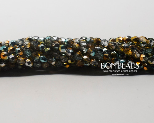 4mm Multi Celestial Fire Polished (600 Pieces)
