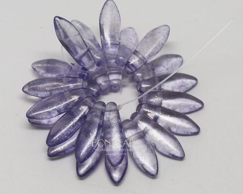5x16mm Lavender 2 Hole Daggers (300 Pieces)