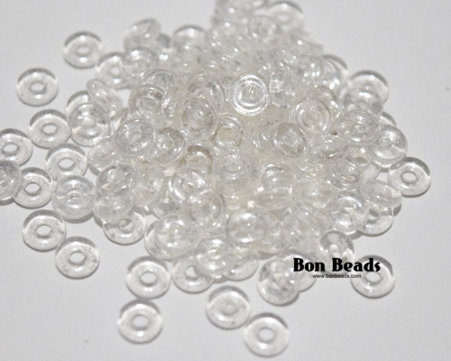 4x1mm Crystal O Beads (100 Grams)