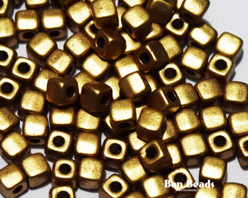 6/0 Aztec Gold Cubix® (50 Grams)