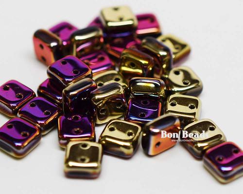 6mm California Purple Rush 2 Hole Chexx (100 Grams)