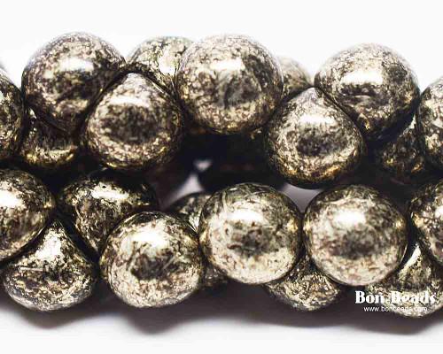 9x8mm Antique Chrome Wide Cap Mushroom Buttons (150 Pieces)