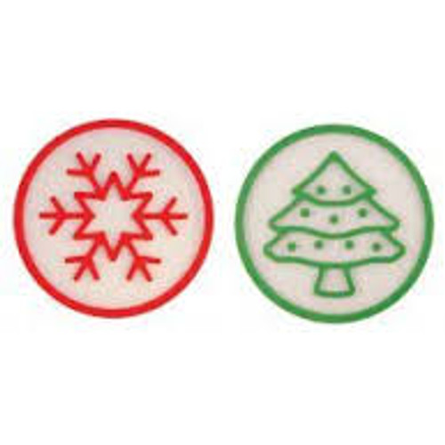 Silicone Collection Holiday Trivets