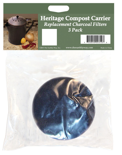 Heritage Compost Carrier - Replacement filters