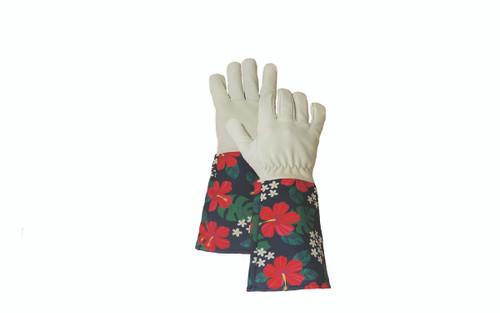 Hibiscus Gauntlet Gloves