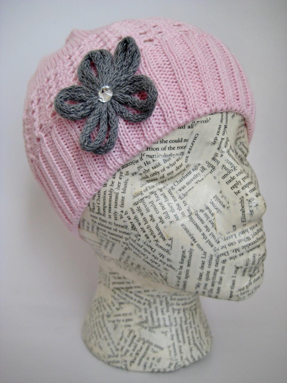 Spring Crocheted Hat For Girls Summer Knit Beanie Fall Crochet Hat