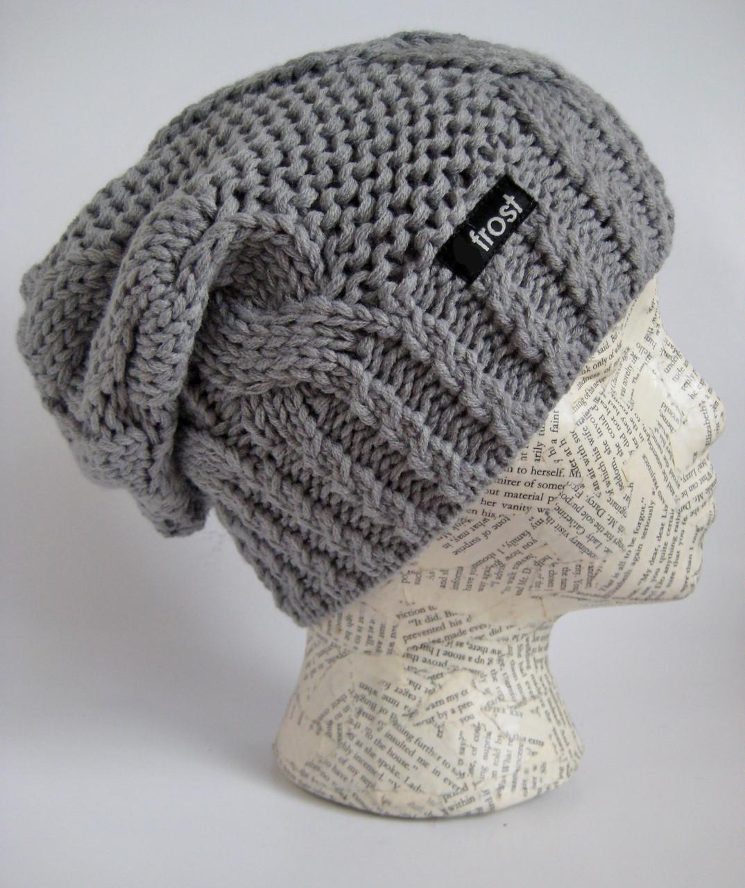 c145c6d5e5f2a Slouchy hat for women  Winter beanie  Designer winter hat  Frost Hats