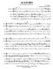 """Allegro Based on """"Horn Quintet in E Major K. 407"""" Brass Quintet (Mozart/ arr. Madeson)"""