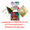 Canadian Brass CHRISTMAS COLLECTION CD Pack (4 CDs)