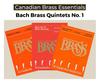Essential Bach Brass Quintets Bundle Pak 1