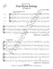 Four Hymn Settings for Trumpet Trio by John Jay Hilfiger