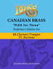Flex for Three - Performer's Edition for Bb Clarinet, Bass Clarinet, Bb Trumpet and or Baritone (TC)