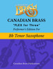 Flex for Three - Performer's Edition for Tenor Saxophone