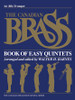 Canadian Brass Book of Easy Quintets - Trumpet 1 PDF Download