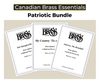Essential Patriotic Brass Quintet (Star Spangled Banner, America the Beautiful and My Country 'Tis of Thee) PDF Download Bundle