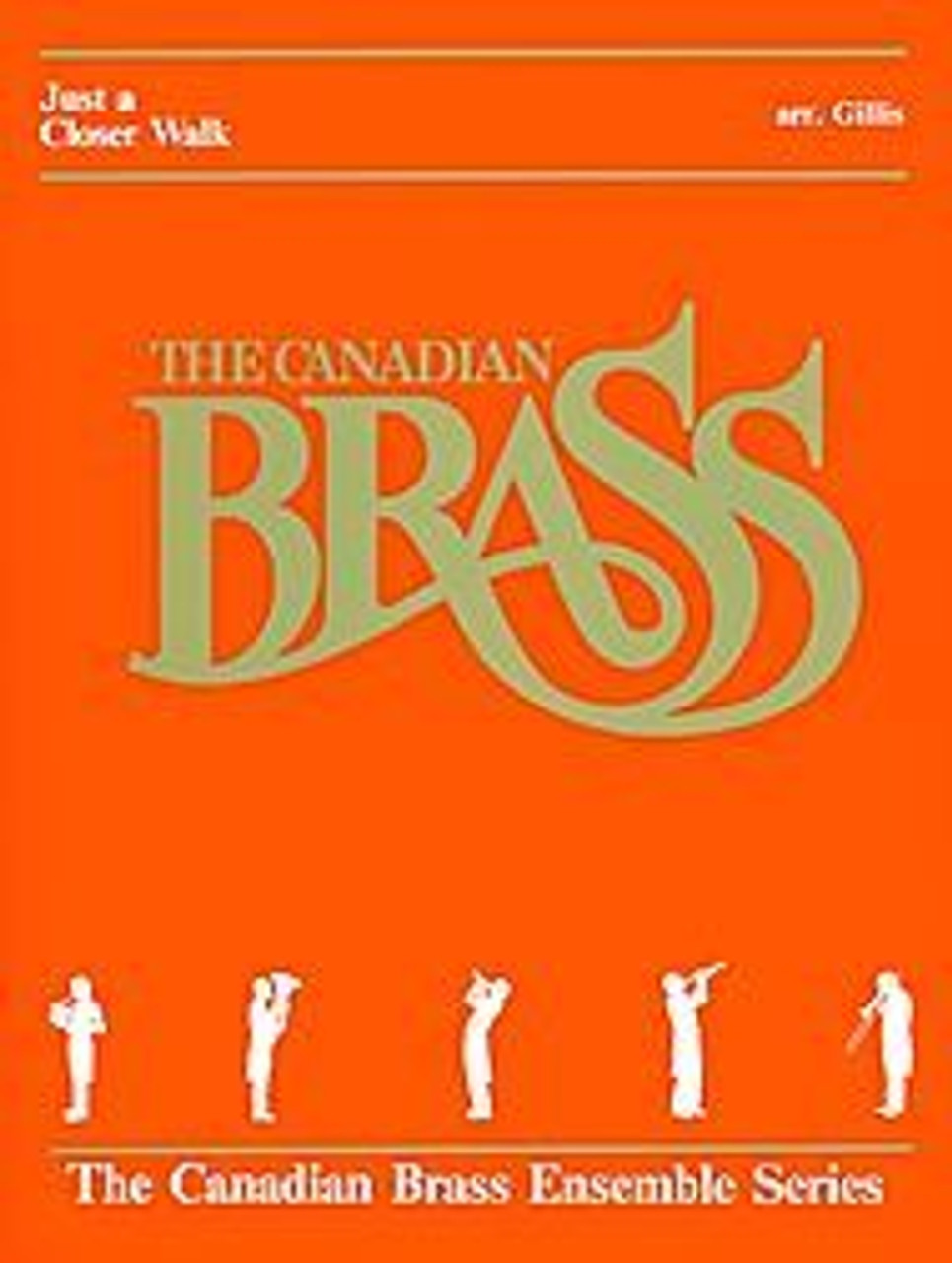 Just a Closer Walk with Thee for Brass Quintet (Trad /arr  Gillis)  Blackbinder Format (Trumpet 1 in Bb part)