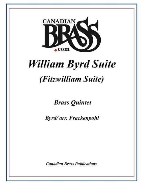 William Byrd Suite / Fitzwilliam Suite (Byrd/arr. Frackenpohl) archive copy