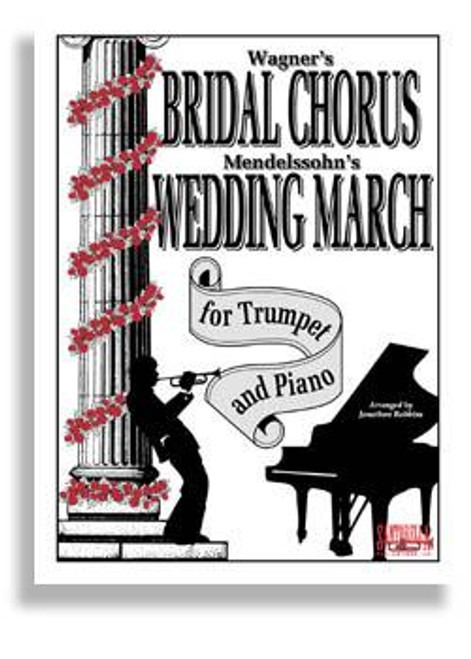 Bridal Chorus & Wed March For Trumpet & Piano