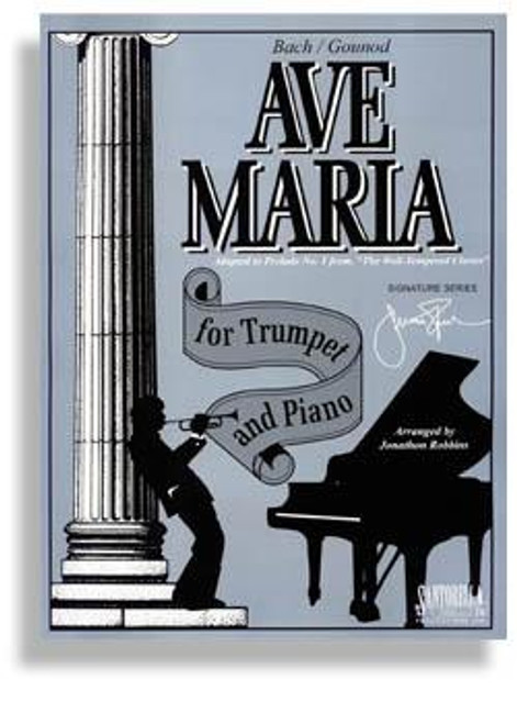 Ave Maria For Trumpet & Piano * Bb Edition * Bach