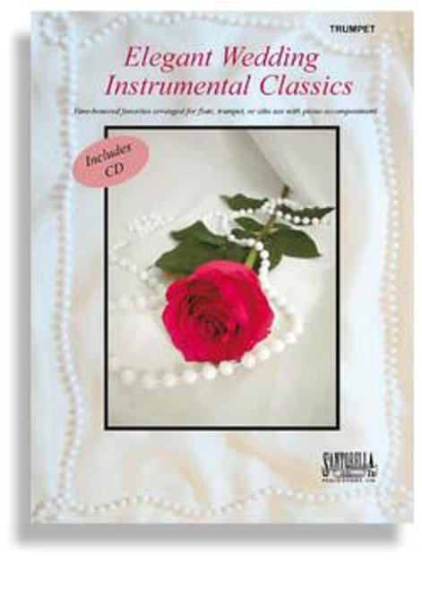 Elegant Wedding Instrumental Classics Series Bk/CD